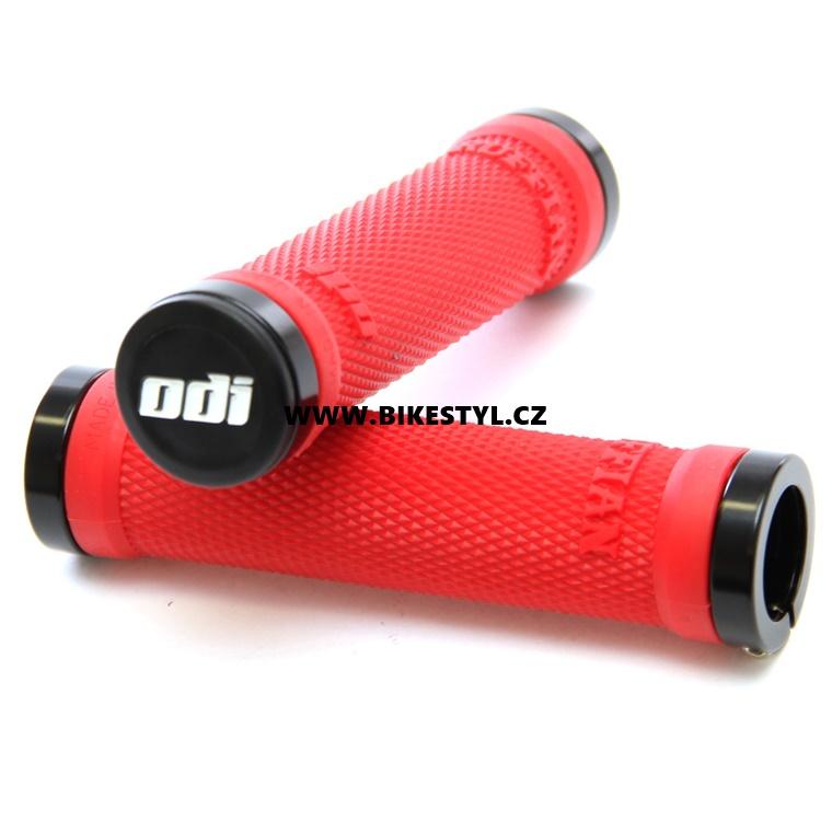 Gripy MTB ODI Ruffian Lock-On Bonus Pack červené