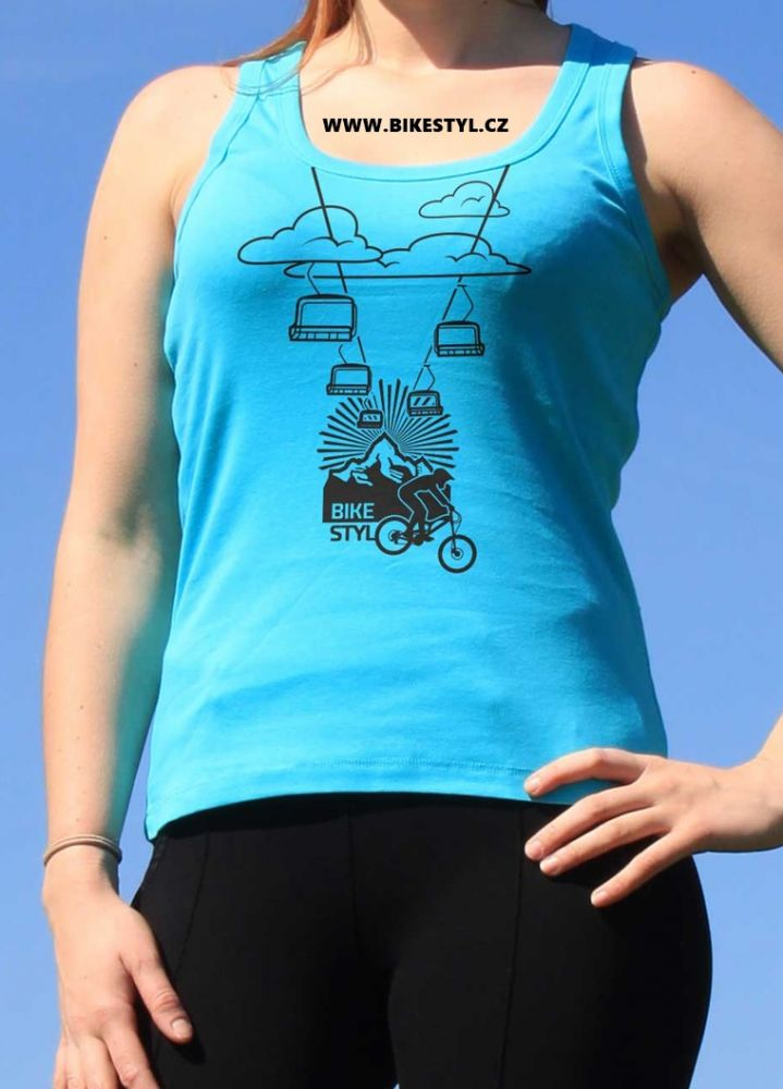 dámské tílko Cabelway bikestyl modré
