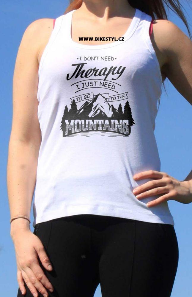 dámské tílko Mountains Therapy bikestyl