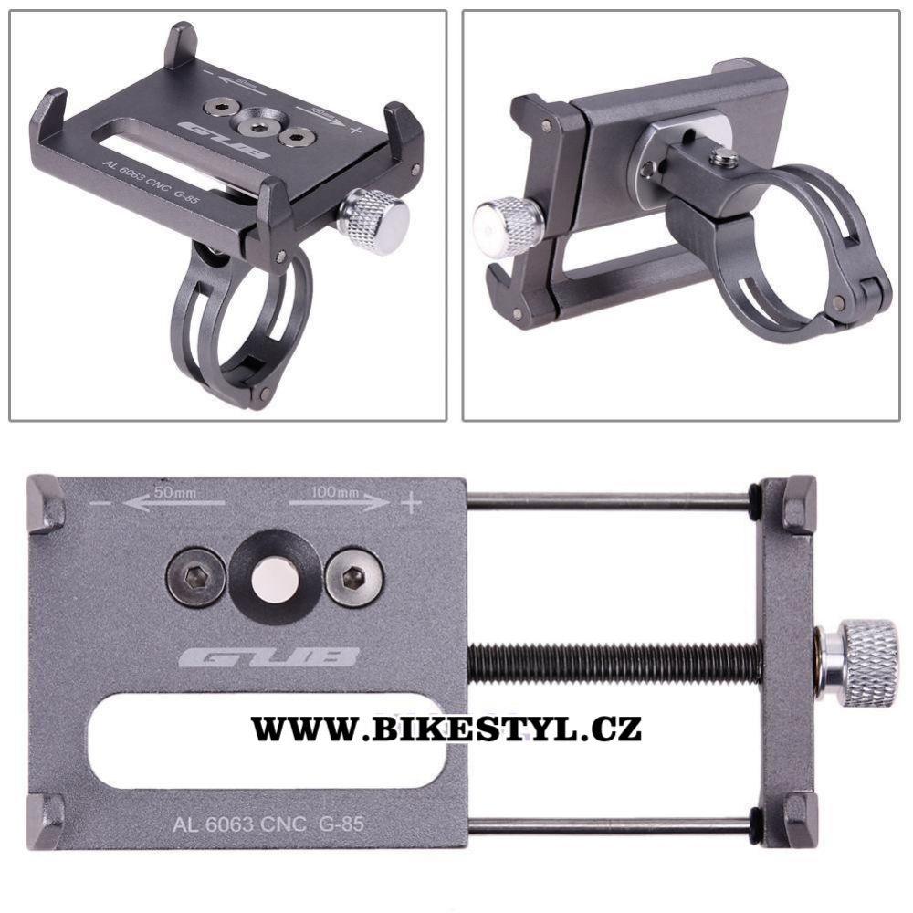 držák mobilu na kolo/motorku phone holder for bike silver