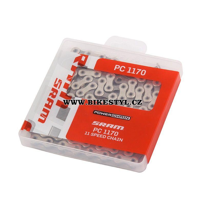 Řetěz 11 rychlostí Sram PC 1170 Hollow Pin 114