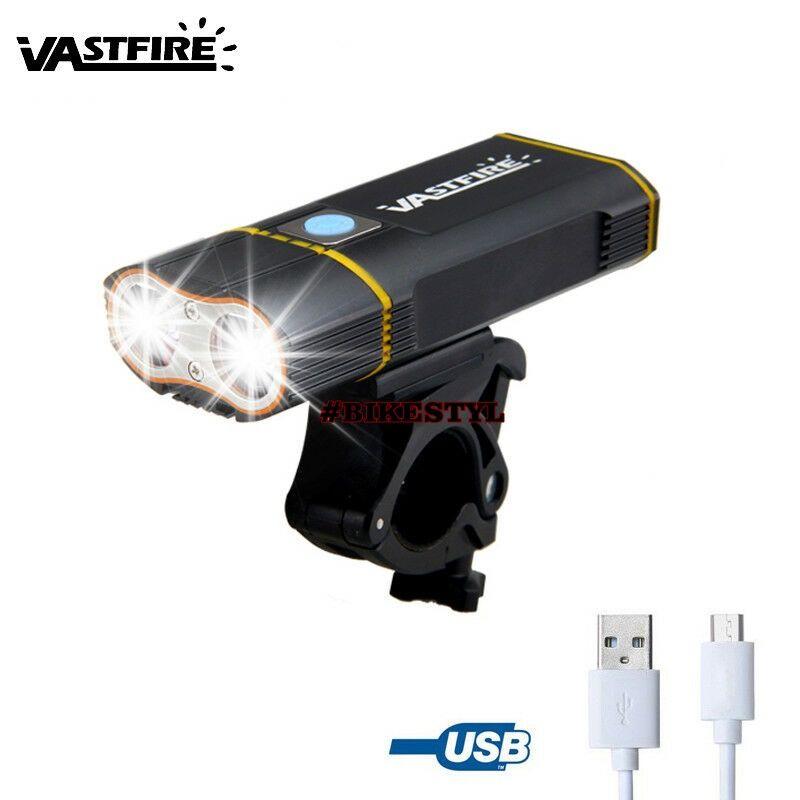 Lampa XM-L2 T6 LED 6000Lm světlo na řidítka