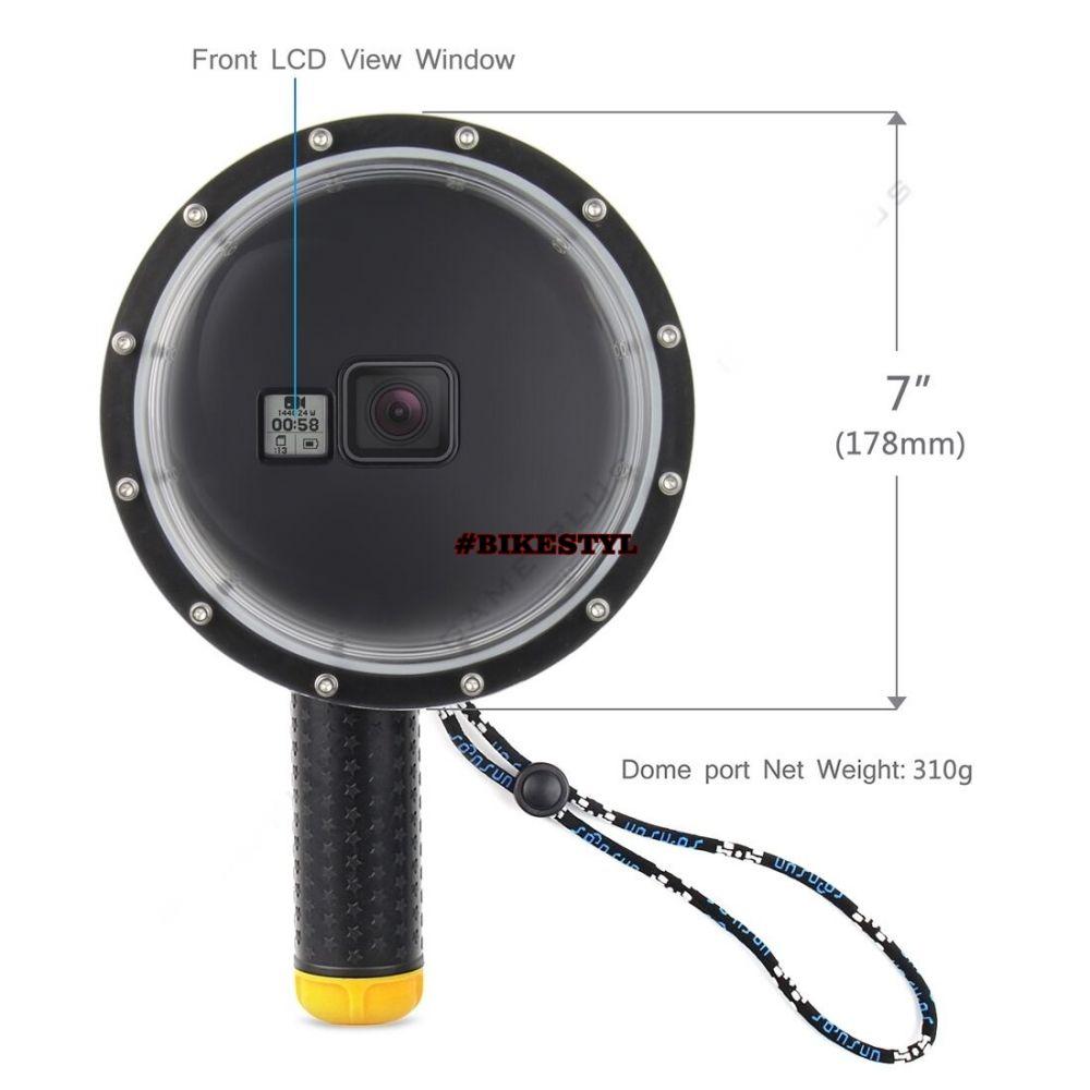 Dome Port podvodní kryt kamery GoPro Hero 5-6-7