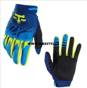Fox Racing Dirtpaw 2017 rukavice Blue-Yellow XL