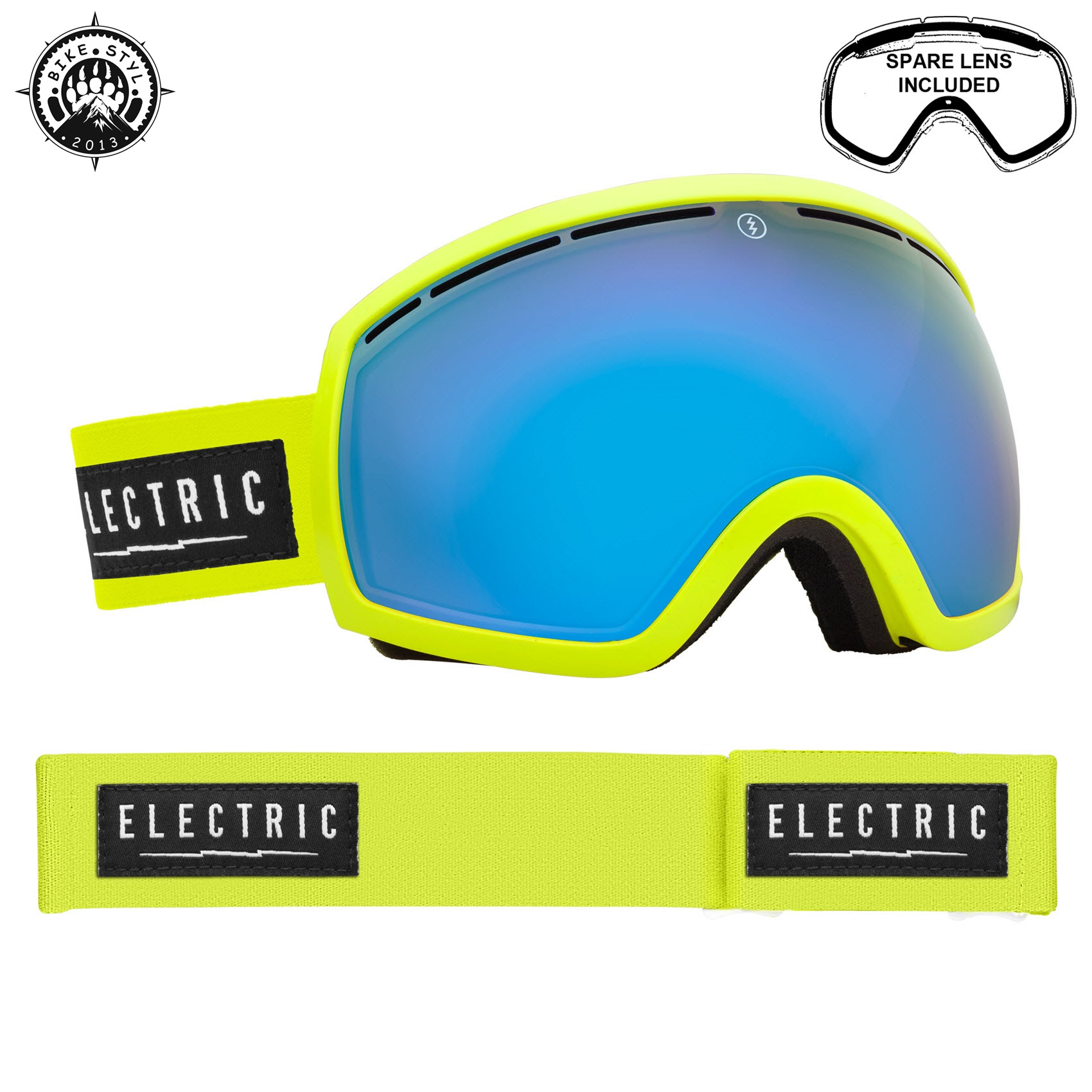electric bryle snb eg2 yellow lime
