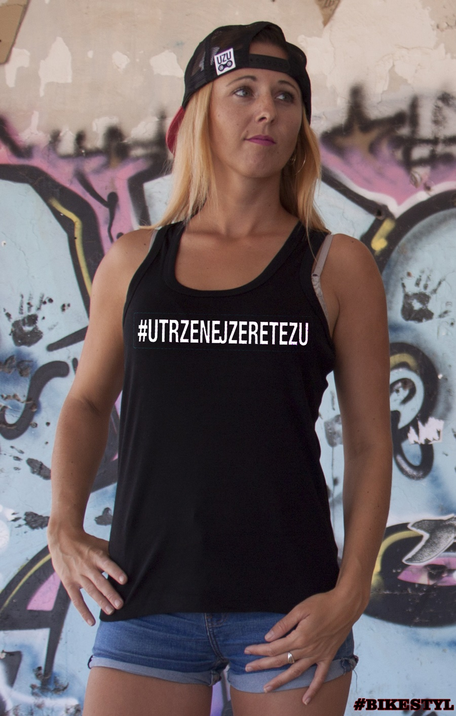Sexi ladies top black UZU