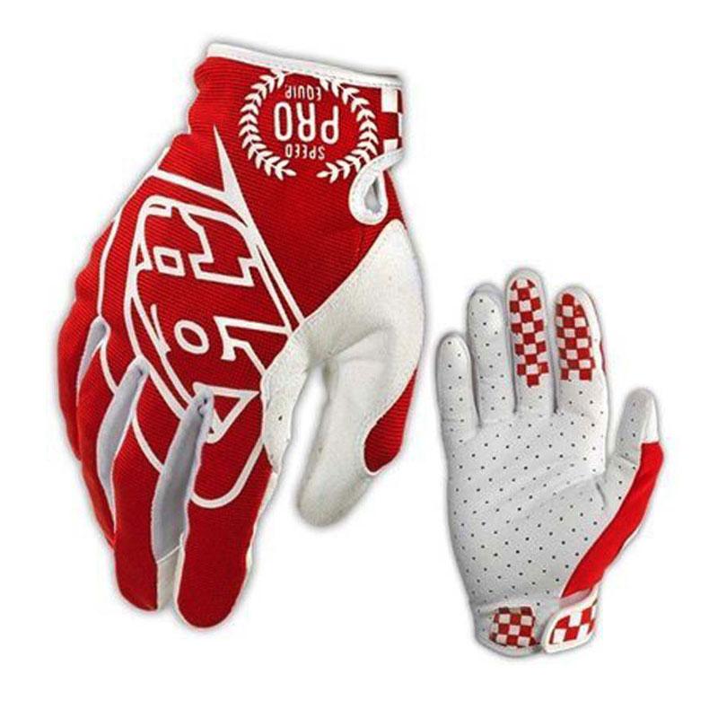 Troy Lee Designs rukavice GP red/white M