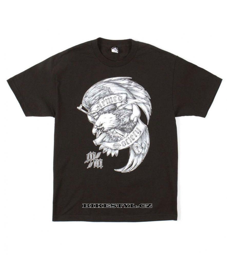 pánské triko Metal Mulisha Death Above black L