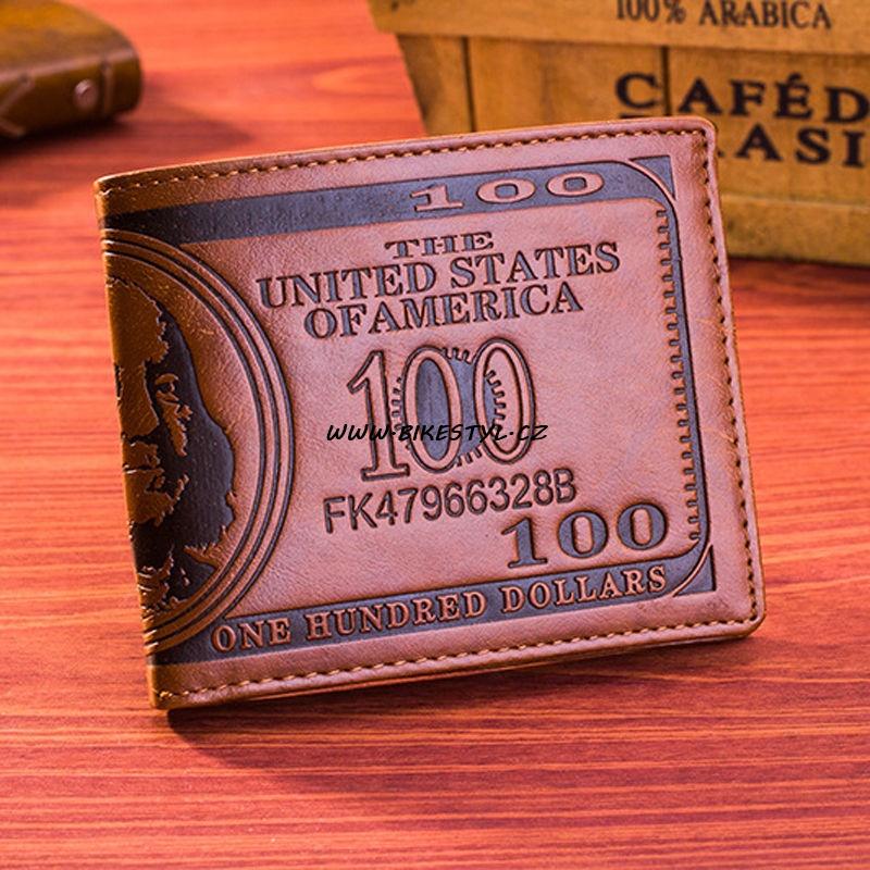 Pánská peněženka Dollars Brown
