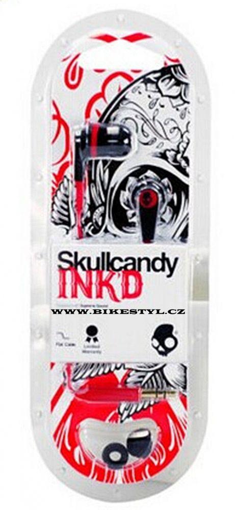 Sluchátka Skullcandy INDK 2.0 Red