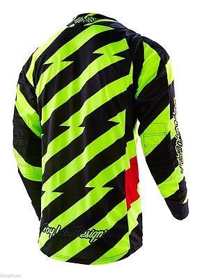 Troy Lee Designs dres SE Caution Flo MX yellow/black XL