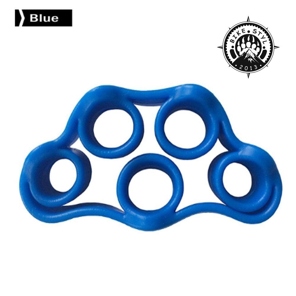 Finger Resistance Band - posilovač prstů 4000 Light Blue 4kg