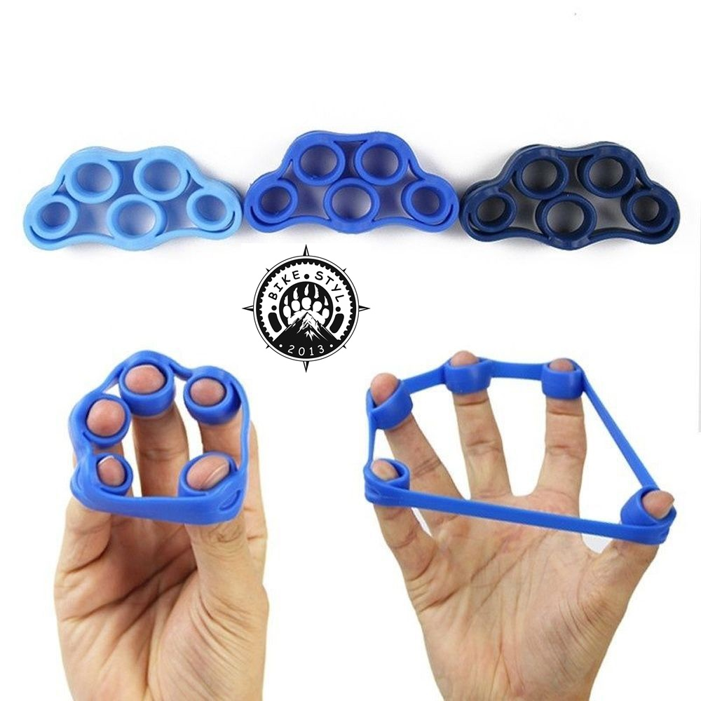Finger Resistance Band - posilovač prstů 5000 Blue 5kg