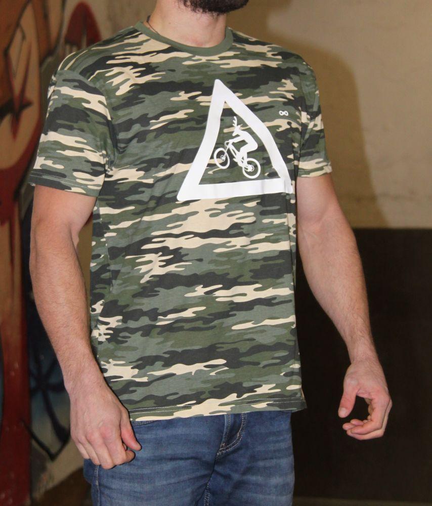 Tričko Utrženej Ze řetězU camo Original T-shirt