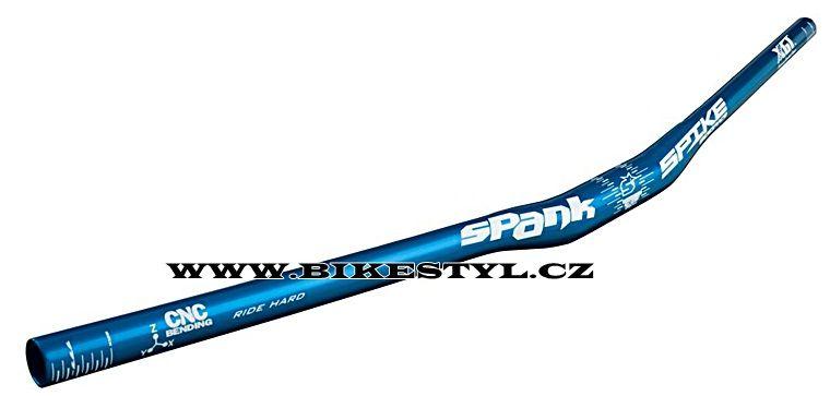 Spank řidítka Spike 800 DH XGT 31.8-800-15mm modrá