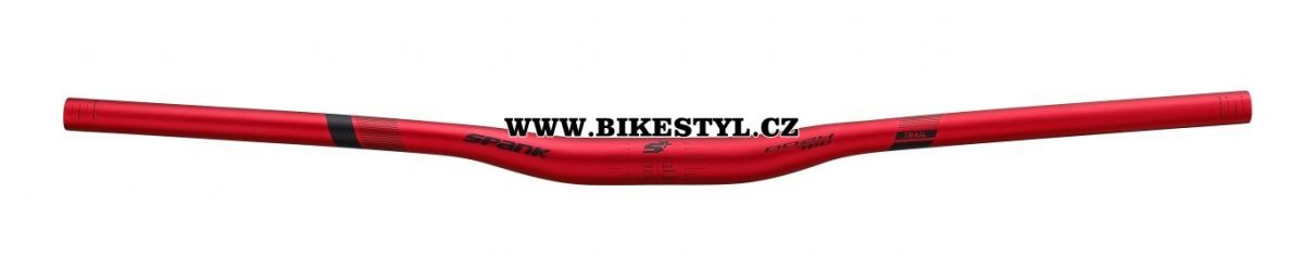 Spank řídítka Oozy 780 Bar, 15R black-red