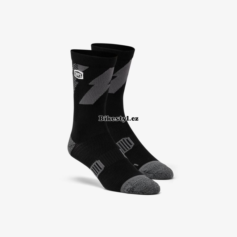 100% ponožky Bolat black L/XL