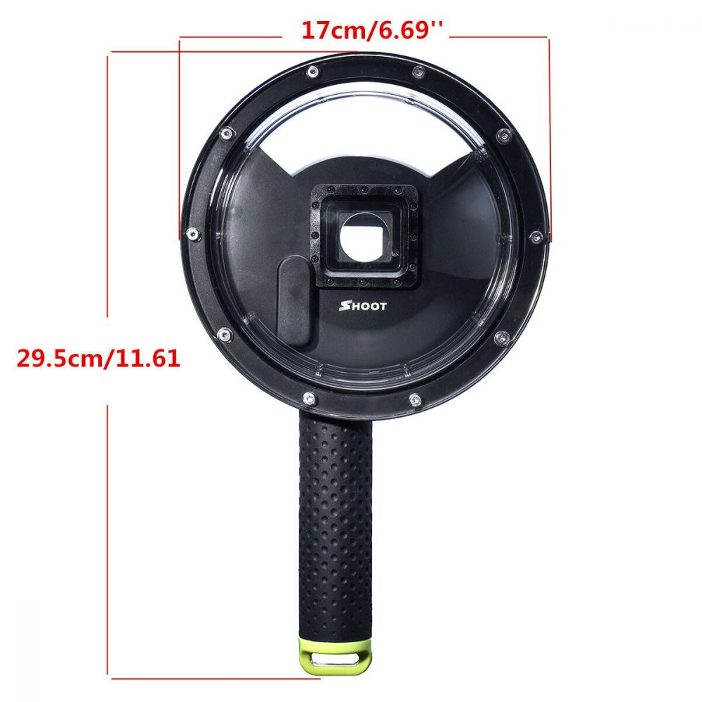 Podvodní kryt kamery GoPro Hero 3, 3+, 4