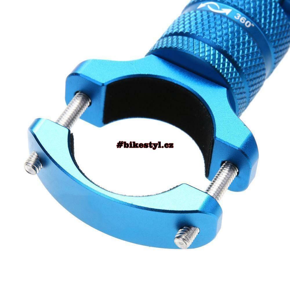 GoPro držák kamery na řidítka 360 blue
