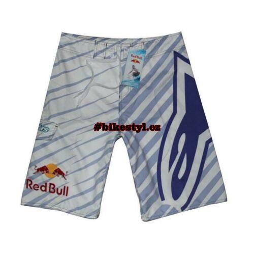 Redbull plavky Alpinestar gray-blue boardshorts