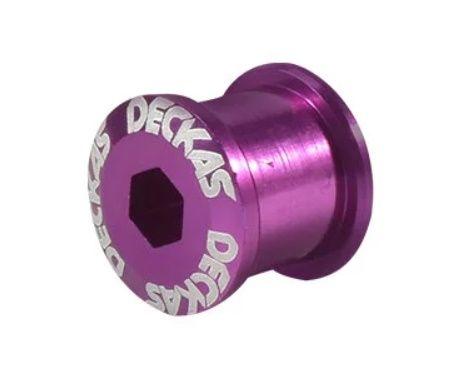 Šrouby převodníku fialové Deckas