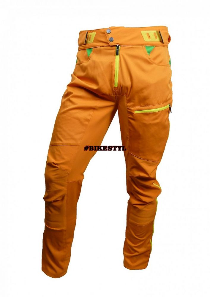 Haven Singletrail kalhoty bike pants orange