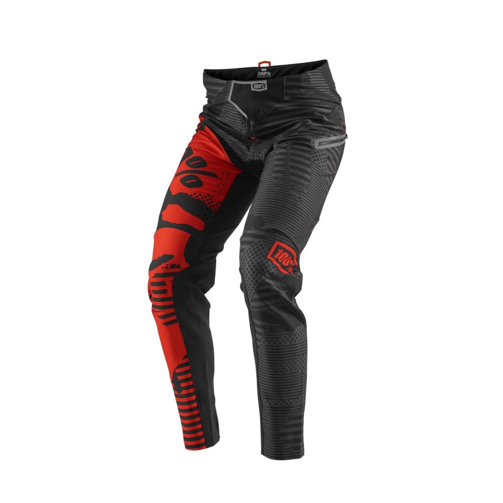 100% R-CORE-X DH PANTS BLACK CAMO kalhoty