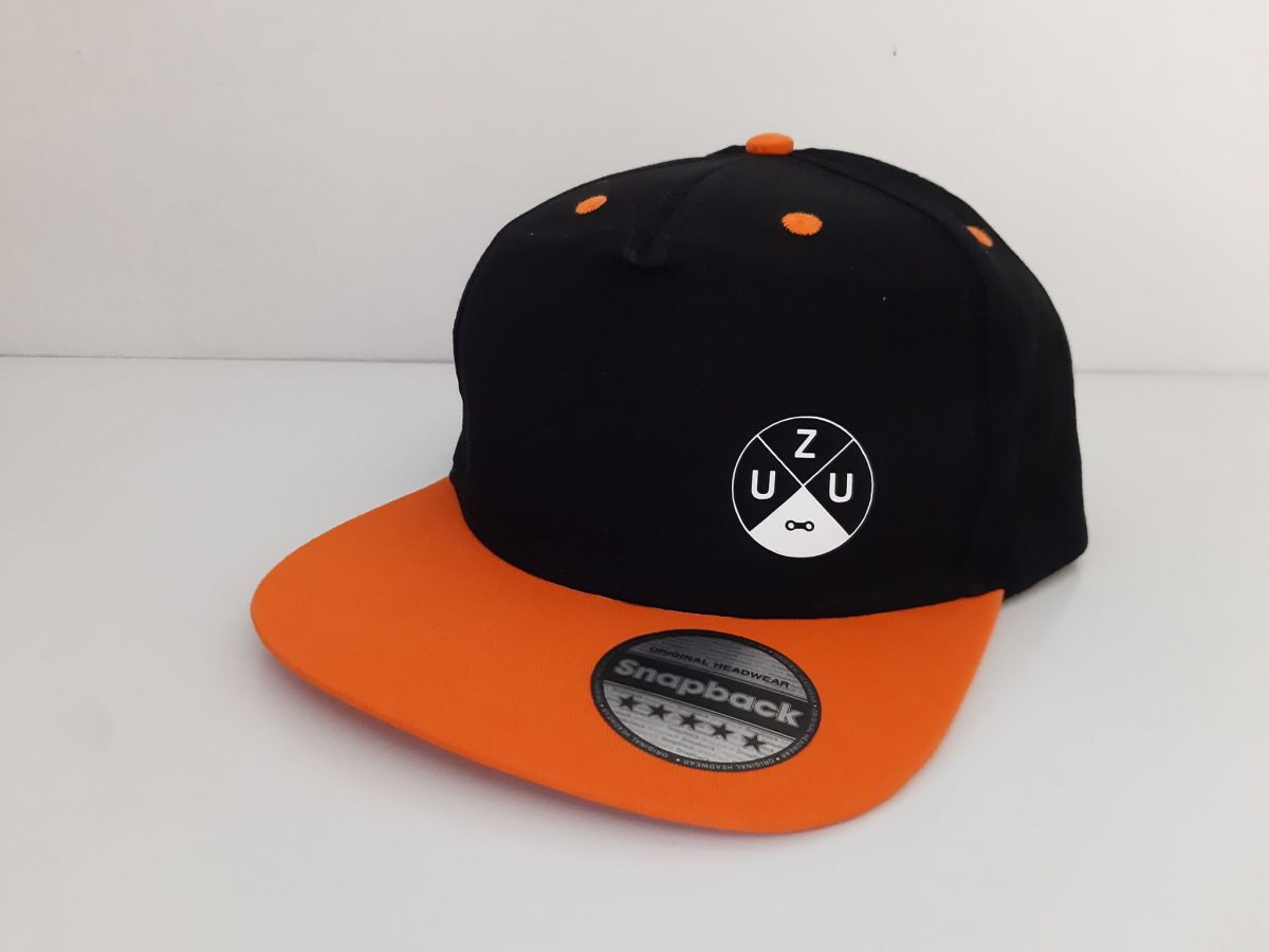 Kšiltovka UZU Black series snapback orange