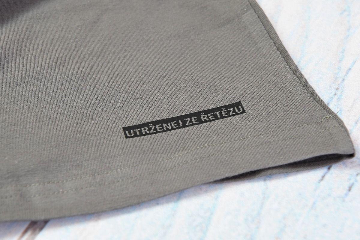 UZU dámské tričko grey-grey