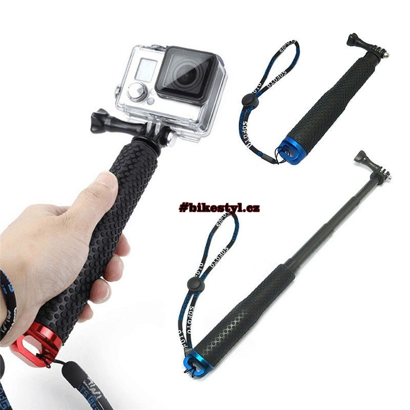GoPro Teleskopická selfie tyč gold