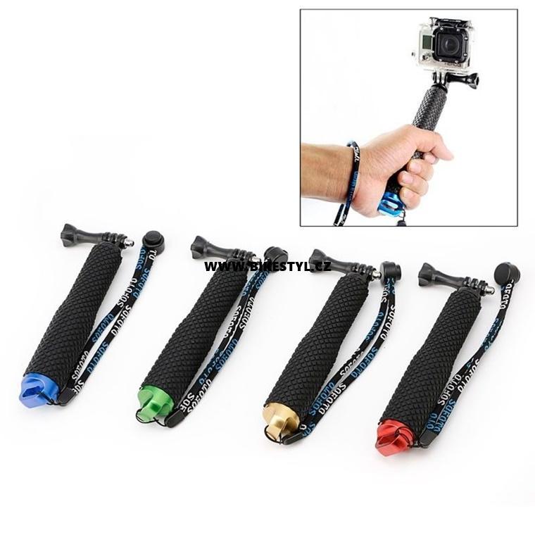 GoPro Teleskopická selfie tyč green