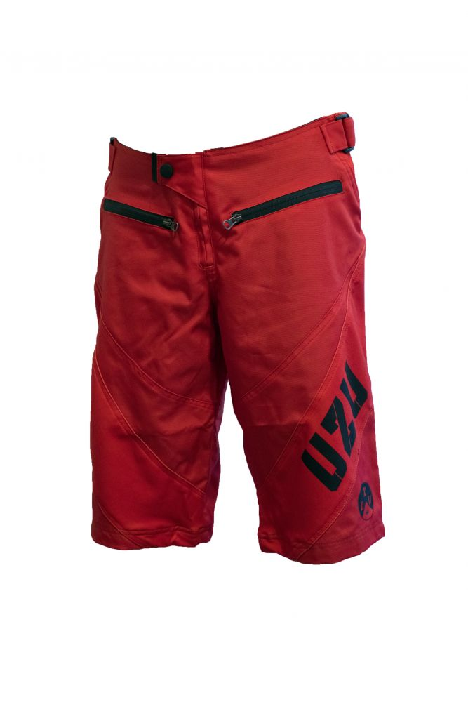 UZU kraťasy DH shorts red