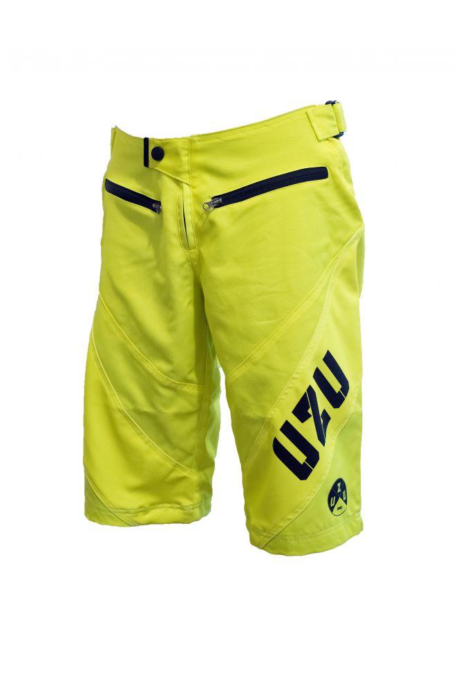 UZU kraťasy DH shorts žluté