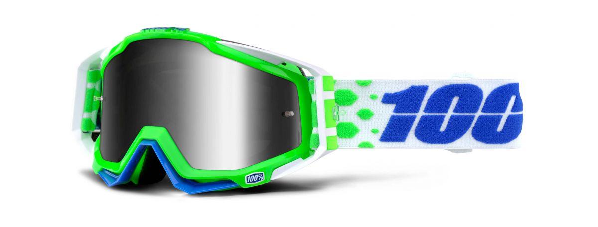 Brýle Racecraft goggle Alchemy- mirror silver lens