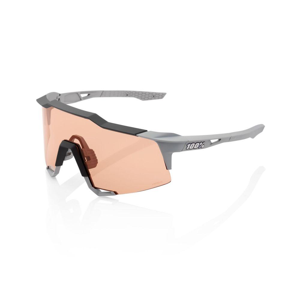 sluneční brýle 100 Percent Speedcraft soft tact stone grey - hiper coral lens