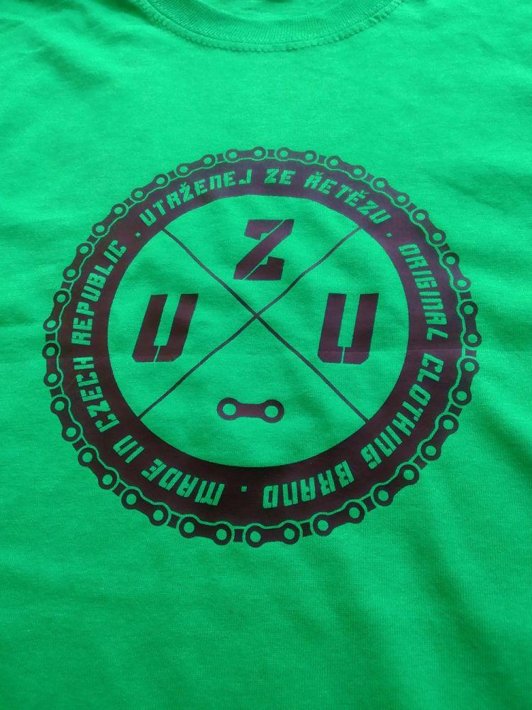 UZU pánské tričko green