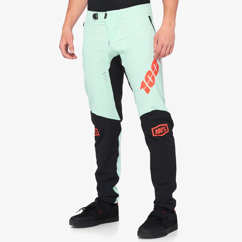 100% R-CORE-X DH PANTS FOAM/BLACK kalhoty