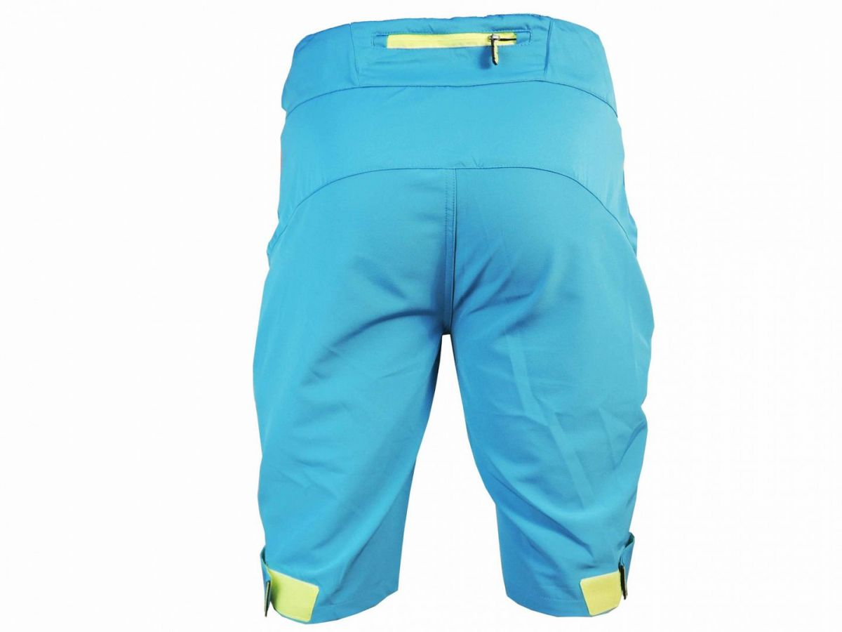 Haven Singletrail kraťasy bike shorts blue