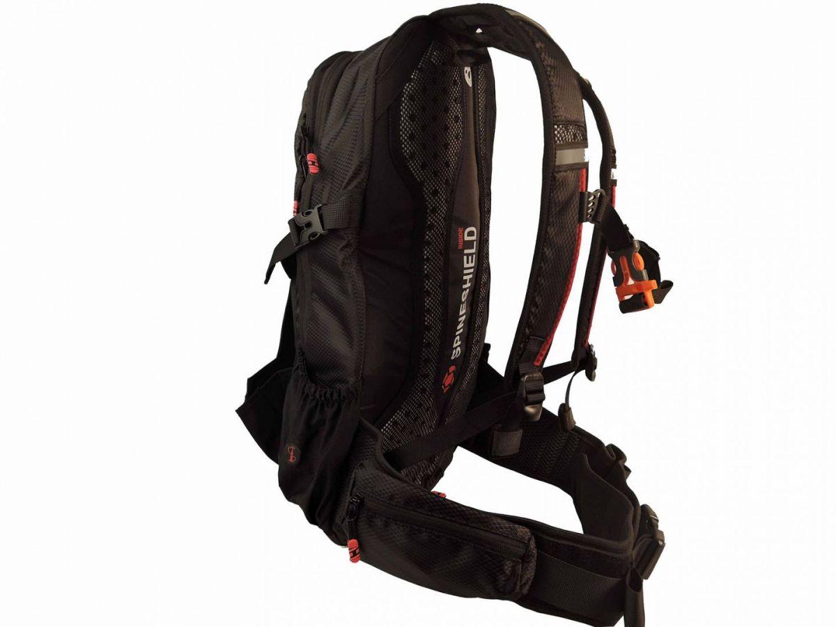Batoh RIDE-KI 22l black-red