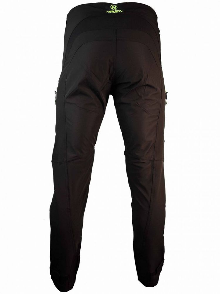 Haven RIDE-KI kalhoty bike pants black-green