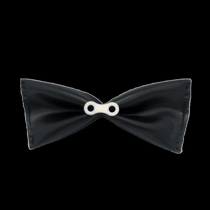 UZU pánský originální motýlek black white