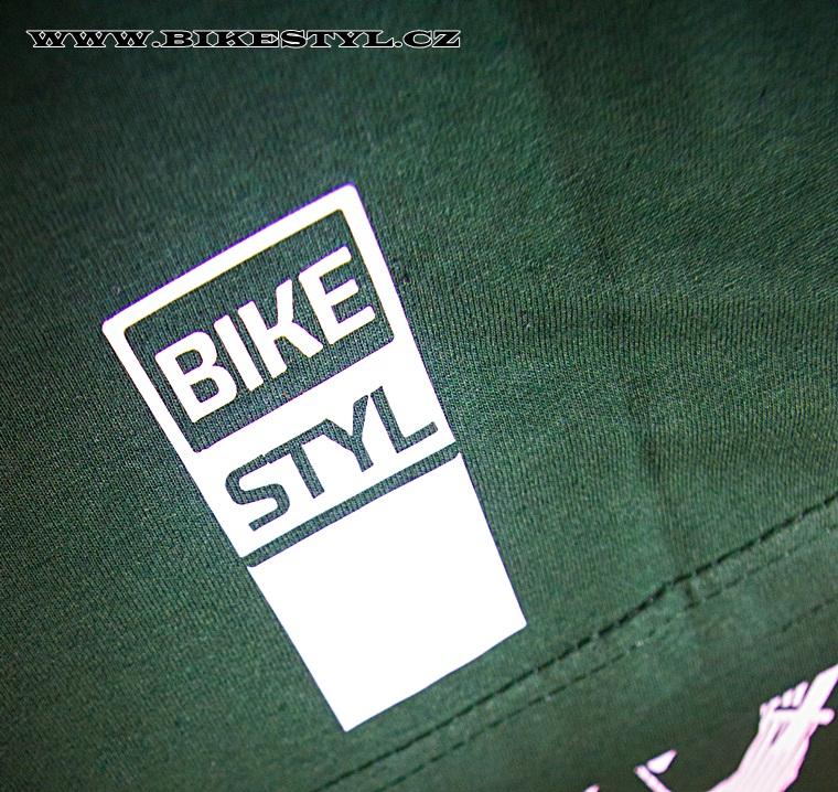 Triko Bikestyl Evolution zelené