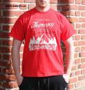 pánské triko Mountains Therapy red bikestyl
