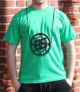 pánské tričko Bike Style bikestyl green