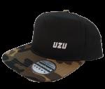 Kšiltovka UZU black camo snapback