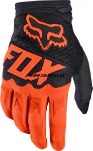 Fox Racing Dirtpaw 2017 rukavice Orange-Black M