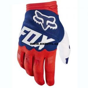 Fox Racing Dirtpaw 2017 rukavice Red-Blue-White M