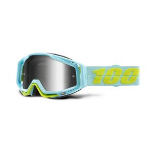 Brýle Racecraft goggle Pinacles- mirror silver lens