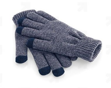 Pletené rukavice Smart gloves, navy