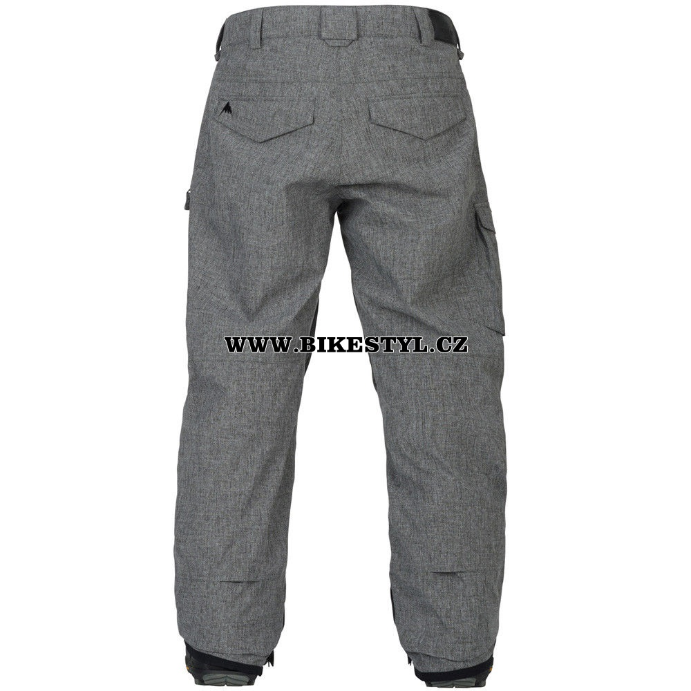 burton pants grey